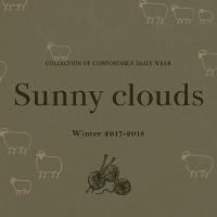 着心地良くておしゃれなデイリーウェアがたくさん!「Sunny clouds」トップページ