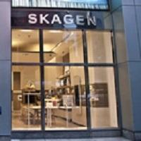 SKAGEN 直営店(東急プラザ銀座店、LUCUA1100店、VIORO店)