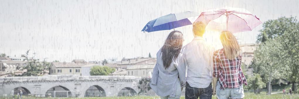 雨の日のお出かけ特集