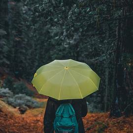 雨の日のおしゃれ♪