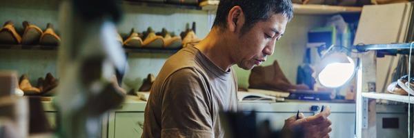 vol.69 そのみつ・園田元さん -「そのひと」が見える靴。 オーダーシューズをもっと日常へ