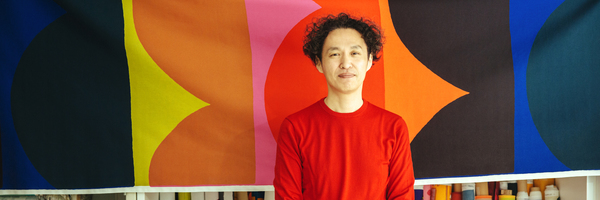 vol.101 テキスタイルデザイナー・鈴木マサルさん -生き物のように力強く。心を飾る魔法の色