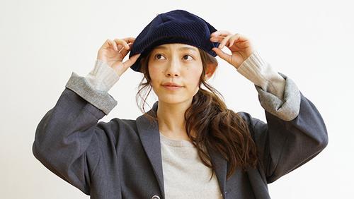 コーデ ベレー 帽 ベレー帽&キャスケットだけで、美人度がこんなにアップする