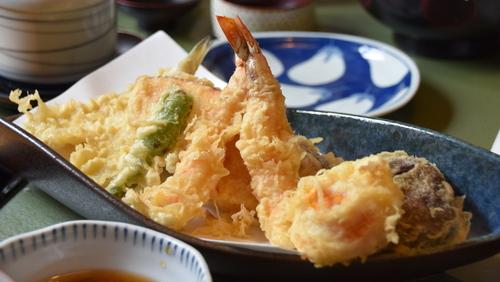 粉 手作り 天ぷら
