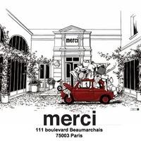 パリで人気のライフスタイルショップ《merci(メルシー)》で見つけたステキな日常モノ