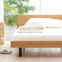 デザインもコスパも凄くいい!無印良品のベッドのある風景まとめました