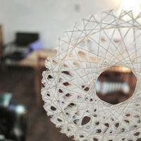 美しさにうっとり。。日本の伝統工芸を取り入れた「りくう」の和紙モービル