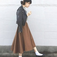 やっぱりスカートが好き♡冬のおしゃれなスカートの着こなしまとめ