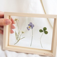 作ってみたい!自然をそこに閉じ込めて。夢のような【押し花アート】の世界