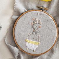 繊細で優しい色使いが素敵♡【Miga De Pan】の幻想的な刺繍の世界