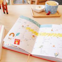 スケジュール帳をかわいく使って、毎日をもっと楽しくしちゃおう♪