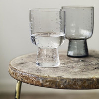 いつもの水が一段と美味しく感じる♪素敵なデザインのグラスたち
