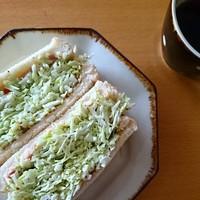 キャベツもりもり、お野菜たっぷりサンド♪Instagramで話題の「沼サン」を作っちゃおう♪