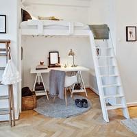 狭い部屋もスペース活用! ロフトベッドで素敵な空間作りませんか?