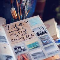 好きなものを切って貼って描いて。自分だけのスクラップブックを作ろう!