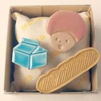 思わず笑顔になるよ☆ 陶磁器のアクセサリー「maitoparta」