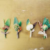 プレゼントに、パーティーに**可憐な造花コサージュを作ってみない?