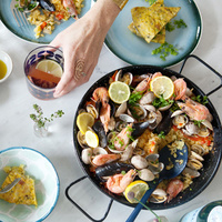 フライパン、炊飯器でも作れる♪おもてなし料理「パエリア」の簡単レシピ