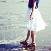 夏に買い足すならコレ!『ホワイトスカート』で爽やか夏スタイルの完成♪