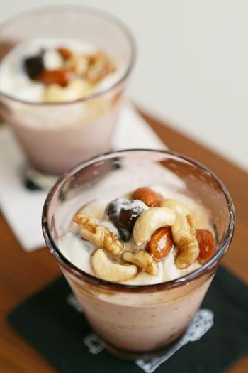 ぷるぷるの触感がたまらない♥ドライフルーツとヨーグルトのレシピ帖 | キナリノ