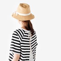 眩しい日差しをおしゃれにカット。夏の帽子コーデを楽しもう♪