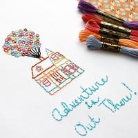 紙と糸で作り出す世界。「紙刺繍」でメッセージを伝えてみませんか?