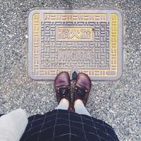 「#足元くら部」が旅行に出たよ♪「#マンホール足元くら部」で巡る観光地