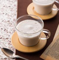 そろそろホットが飲みたい季節。いろんな「・。*お茶ラテ゚・。*」レシピと作り方