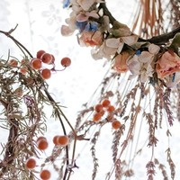 生活に花やハーブの自然の彩りを加えて。リースの作り方、アイデア集。