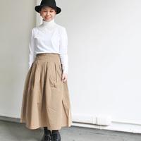 落ち着きカラーで作る、秋冬のロングスカート着こなしコーデ