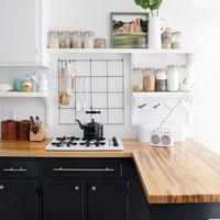 こんな台所に憧れる♪収納技が光る素敵なキッチンインテリア集。