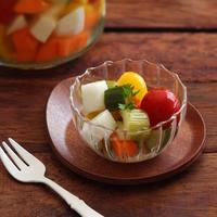 テーブルに華が咲く* 冬野菜で作る【カラフルピクルス】レシピ◎
