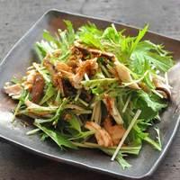 食卓に緑が欲しいときは【水菜】の出番!美味しくいただくレシピ集