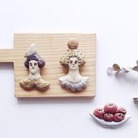 思わずにっこり。陶芸家 「今井律子」さんの、優しくてかわいい陶器たち