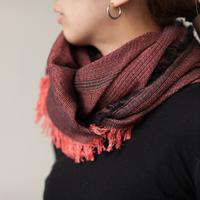 1本の糸作りから生まれる播州織。「hatsutoki」 の優しいシャツとストール