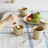 自然の恵みを食卓に。「高橋工芸」の美しい木の器