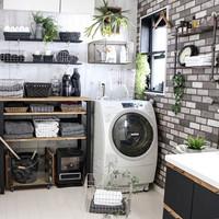 もっと素敵に使いやすく。洗濯機周りのお手本収納・ディスプレイ