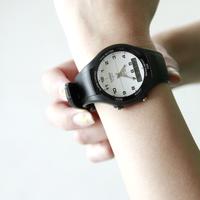 ずっと愛せる私の定番。 シンプルシックが可愛い「カシオ」の腕時計