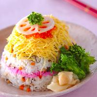 ひな祭りの新定番『寿司ケーキ』でパーティーを華やかに盛り上げよう♪