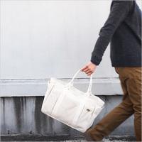 やっぱり白色が好き♡しっかり生地の「帆布トートバッグ」ブランドおすすめ5選