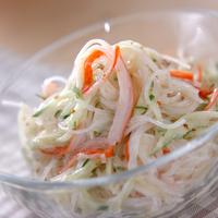 さっぱりつるん♪付け合せにも◎な「春雨サラダ」のレシピをご紹介
