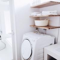 かさばる洗濯機周りをすっきり。洗濯カゴ・ランドリーボックスの上手な使い方