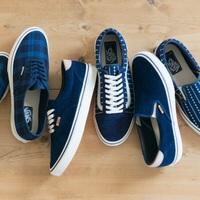 スリッポンの季節!VANS(バンズ)の新作、藍染インディゴコレクションがかわいい