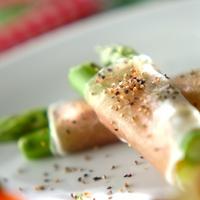 春先~初夏にかけて美味しいよ♪栄養満点「アスパラ」でいろいろアレンジ。