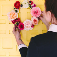 花瓶に活けるだけじゃないお花との関係♡スワッグ、リースの作り方。