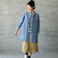羽織っても、1枚で着ても◎「デニムシャツ」で夏⇒秋コーディネート
