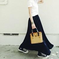 スカート&ワンピース限定♪コンバース「オールスター」の可愛いコーデお手本帖