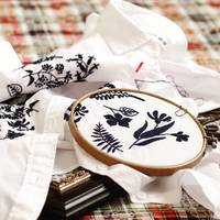 白T、エコバッグ、リネンなどに♪自分で簡単刺繍をしてオリジナルを楽しもう