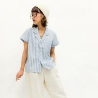 ゆるっとナチュラル♪『パジャマシャツ』で作るリラックスコーディネート