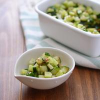 きゅうり・いんげん・オクラ。初夏が旬の緑野菜で、目にも爽やかなおかずを作ろう♪
